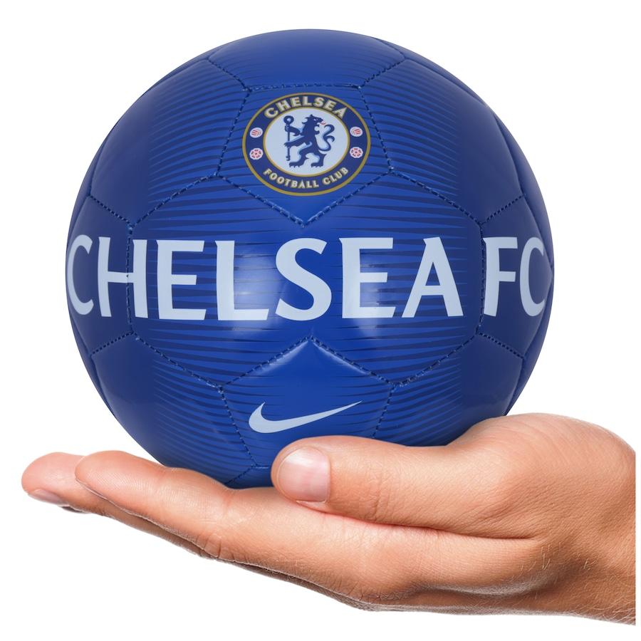 Minibola de Futebol de Campo Chelsea Nike Skills f1ae38ac5c019