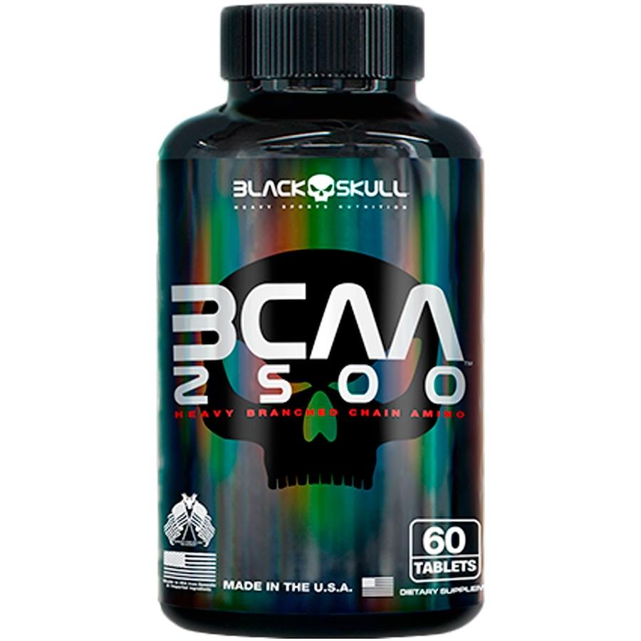 BCAA 2500 60 Tabletes - Natural Black Skull