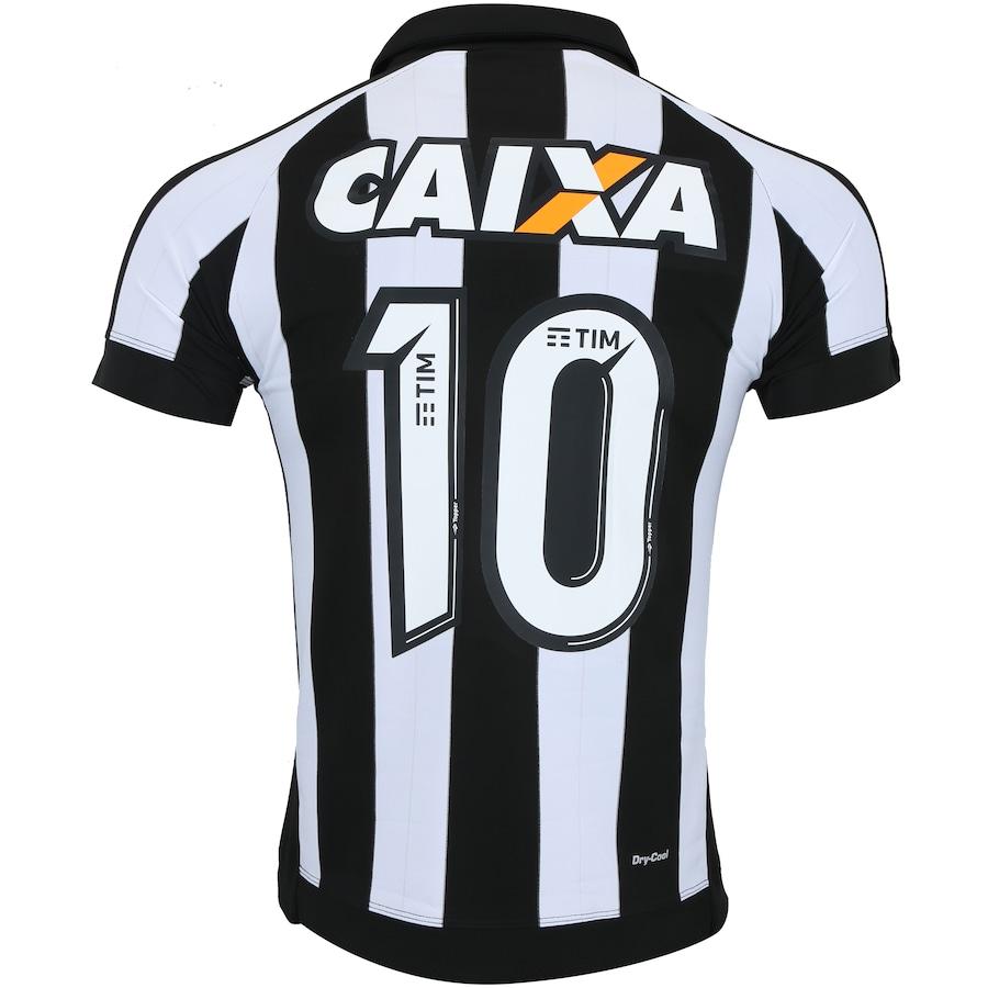 ... Camisa do Botafogo I 2017 nº 10 Topper com Patrocínio - Masculina ... 9e10a18e11050