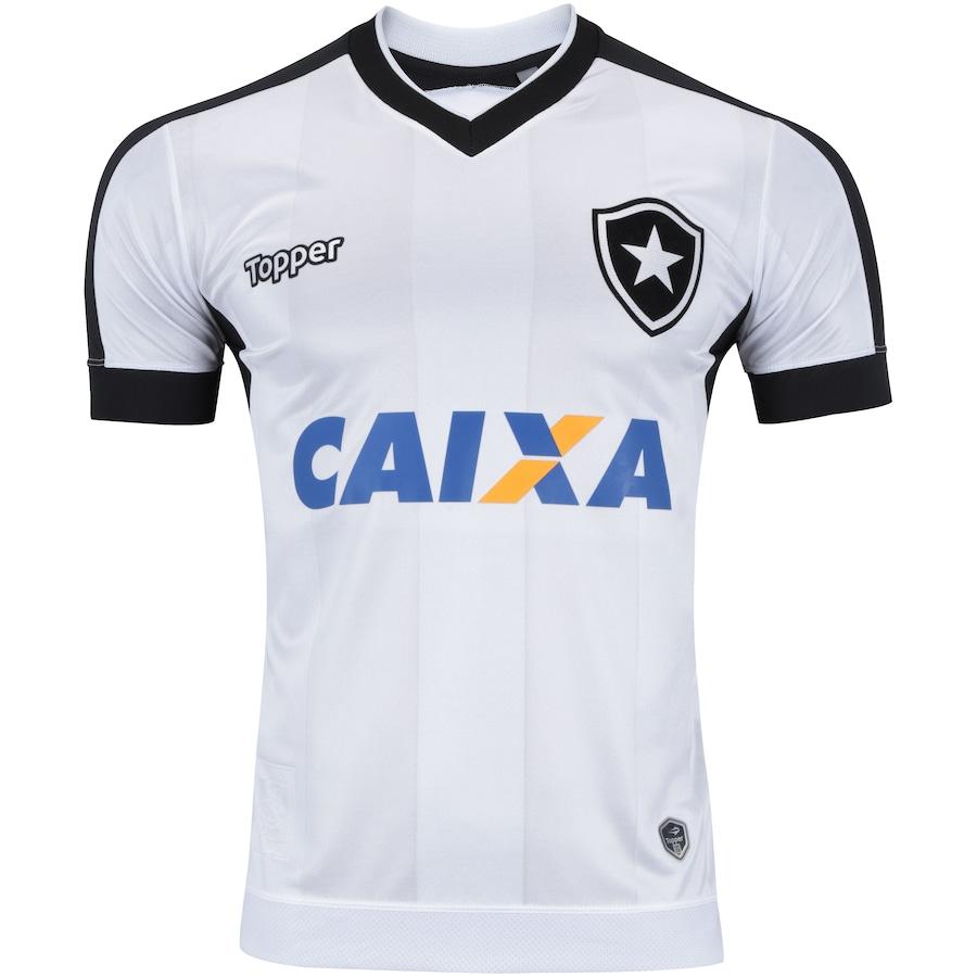 Camisa do Botafogo III 2017 Topper com Patrocínio Masculina 9fd5c27daeac2