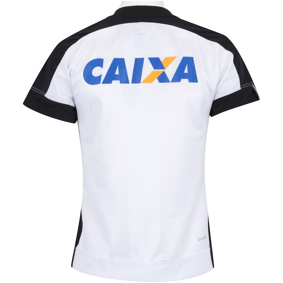... Camisa do Botafogo III 2017 Topper com Patrocínio - Feminina ... 2bdcb2799eb