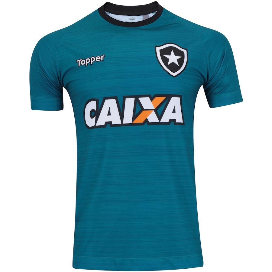 893d415489fb2 Camisa de Treino do Botafogo 2017 Topper com Patrocínio - M