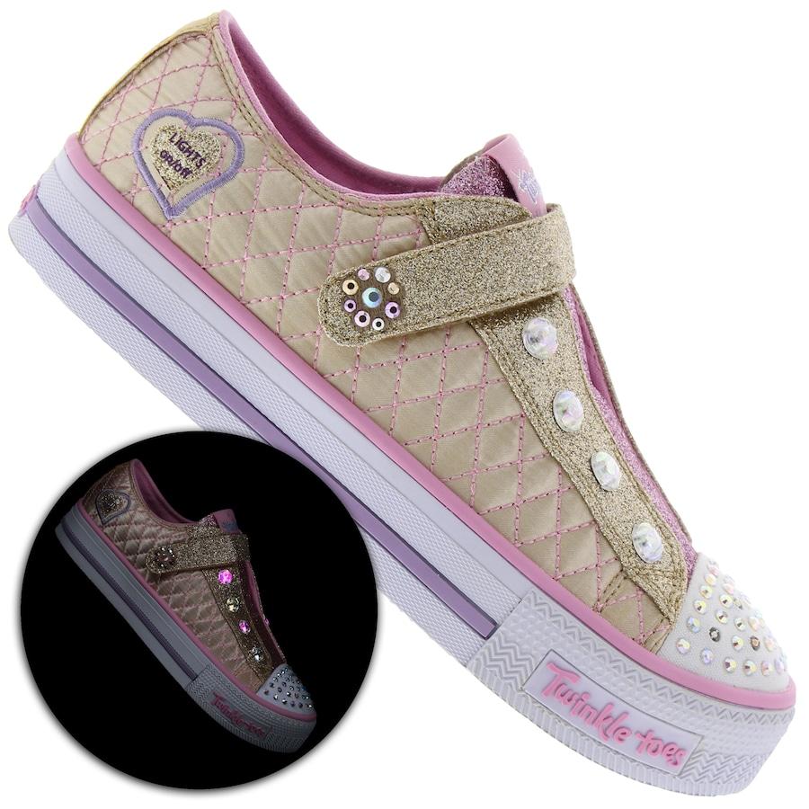 d86b5eaeafb Tênis Skechers Shuffles Sparkly Jewels Feminino - Infantil