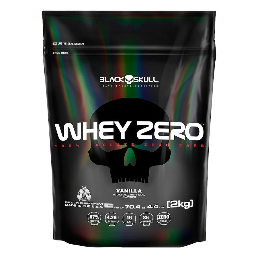 Whey Protein Black Skull Baunilha ISO Zero Refil - 2kg