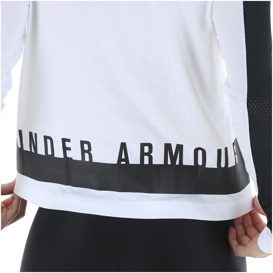 e0b2f08bc1 Camiseta Manga Longa Under Armour Favorite Mesh GR - Feminina