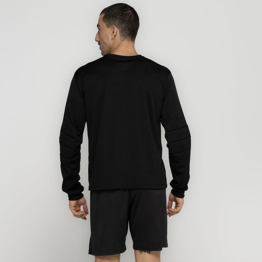 Camisa de Goleiro Manga Longa Adams Lisa - Masculina 96df376831014