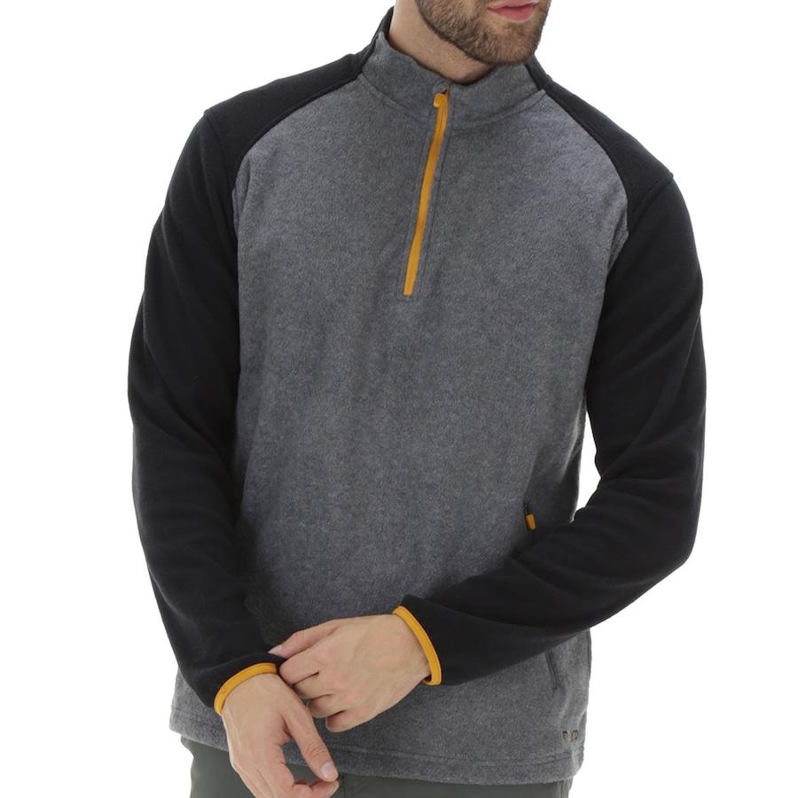 a4192c3dfd Blusa de Frio Fleece Nord Outdoor Bicolor - Masculina
