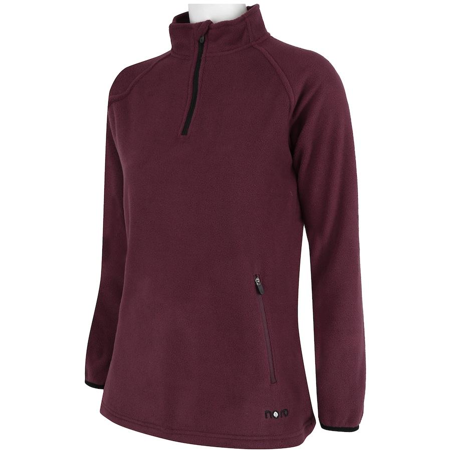 ... Blusa de Frio Fleece Nord Outdoor Bicolor - Feminina. Imagem ampliada   Passe o mouse para ver a imagem ampliada 695687a7a4b