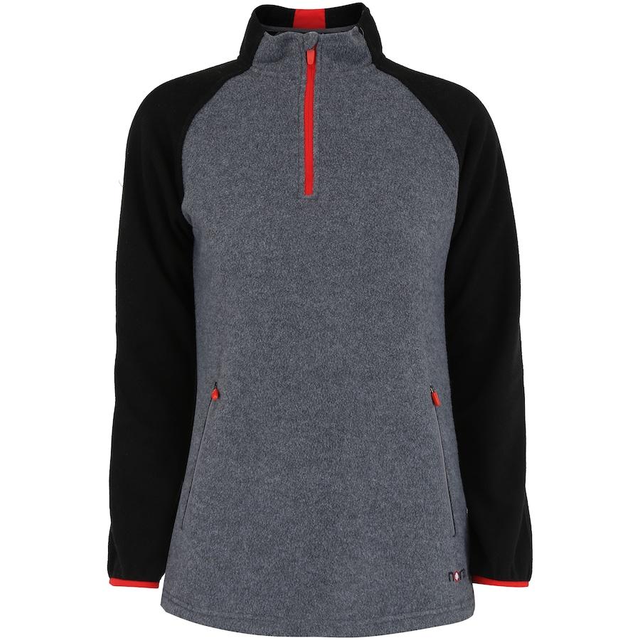 65037376d2 Blusa de Frio Fleece Nord Outdoor Bicolor - Feminina