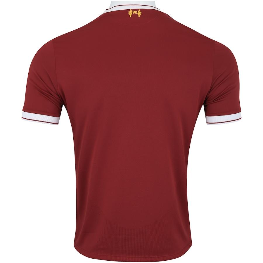 Camisa Liverpool I 17 18 New Balance - Masculina 8650e4427c1ff