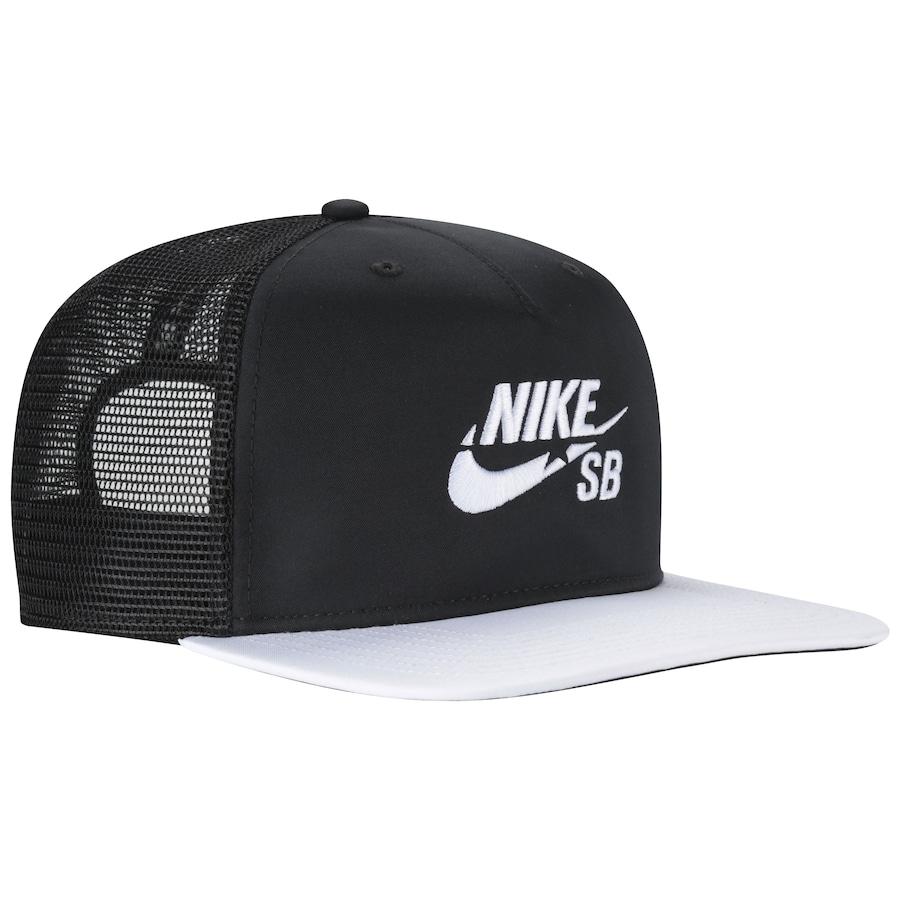 Boné Aba Reta Nike SB - Snapback - Trucker - Adulto 882a1107011