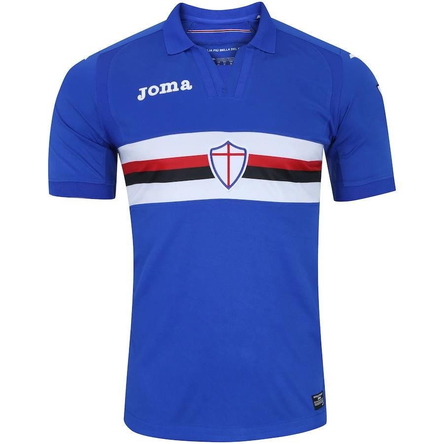 bf249b215a Camisa Sampdoria I 17 18 Joma - Masculina