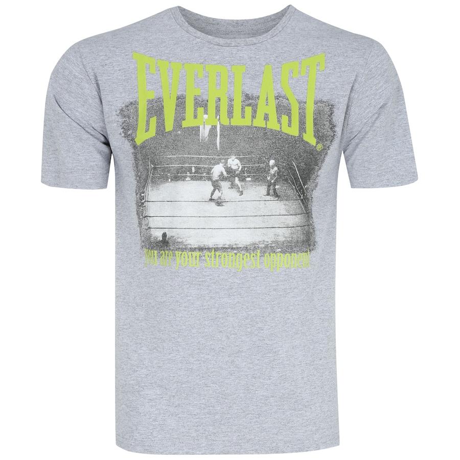e1cbeecec Camiseta Everlast Silk Frente e Costas EL20202 - Masculina