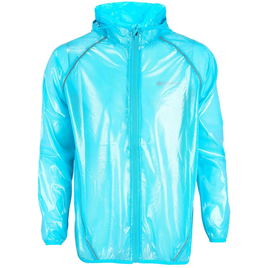 Jaqueta Corta-Vento Impermeável com Capuz Oxer Transparente - Masculina 755e89e80e