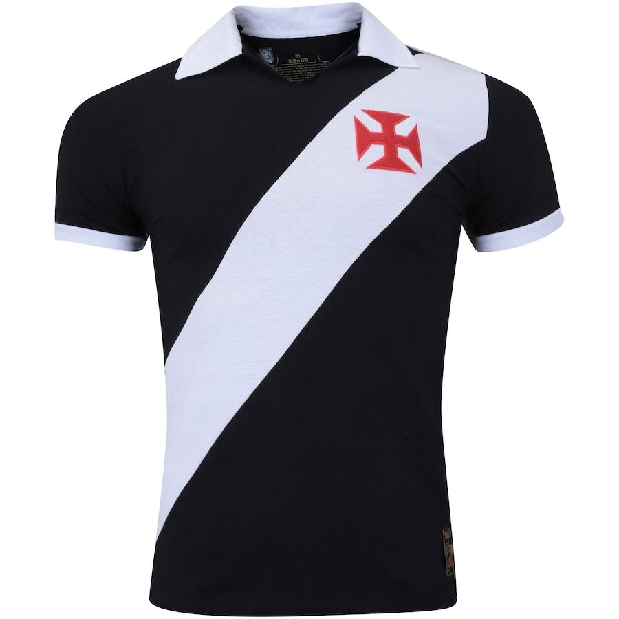 Camisa Polo do Vasco da Gama Paris - Masculina 9b81a5e3d48a6