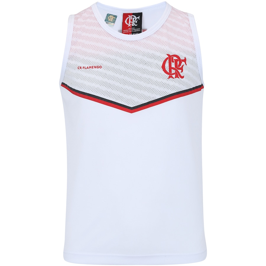 Camiseta Regata do Flamengo Cover - Infantil 42b619ad7db