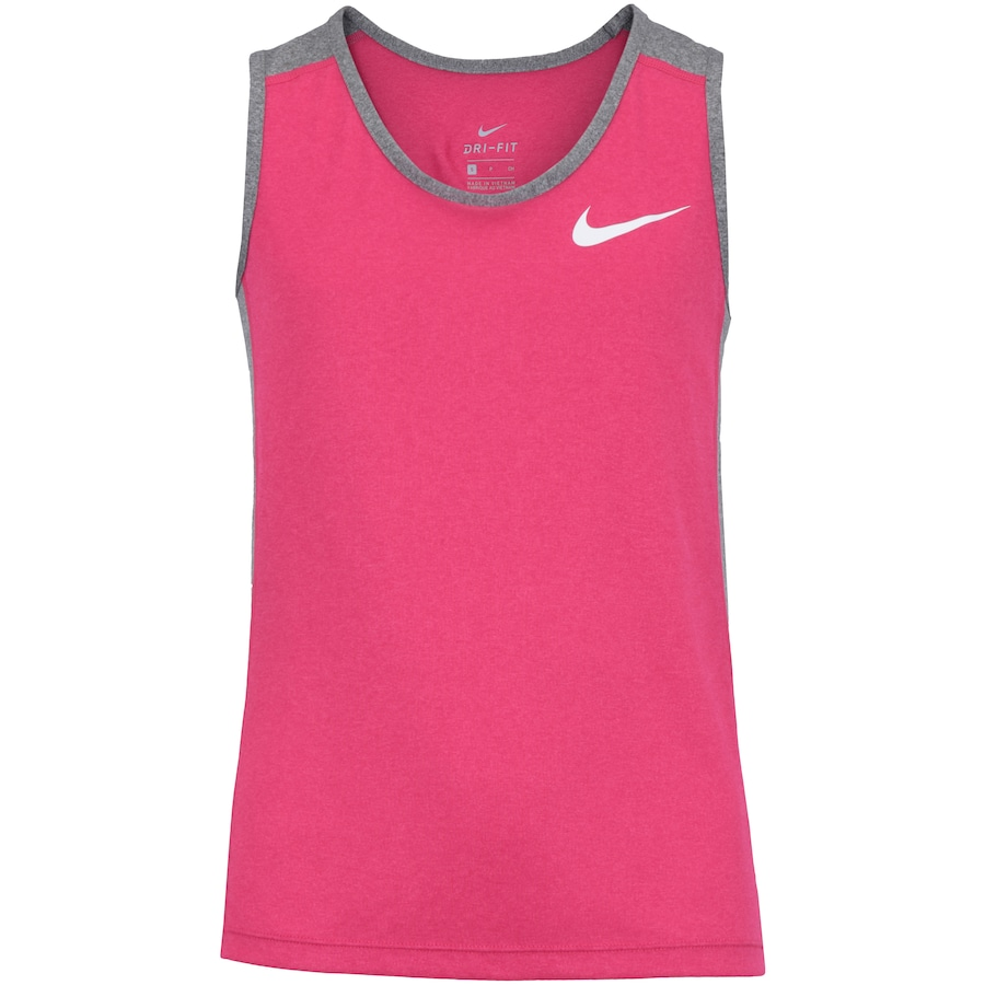 4d0e30fb95f Camiseta Regata Nike Dry Tank Feminina - Infantil