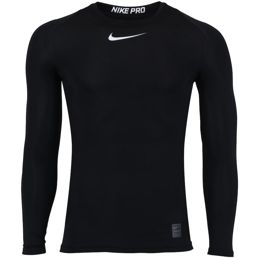 baedc1ec8 Camisa de Compressão Manga Longa Nike Pro LS - Masculina