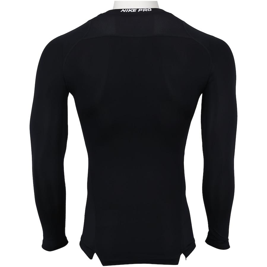 d5689c67dd7 Camisa de Compressão Manga Longa Nike Pro LS - Masculina