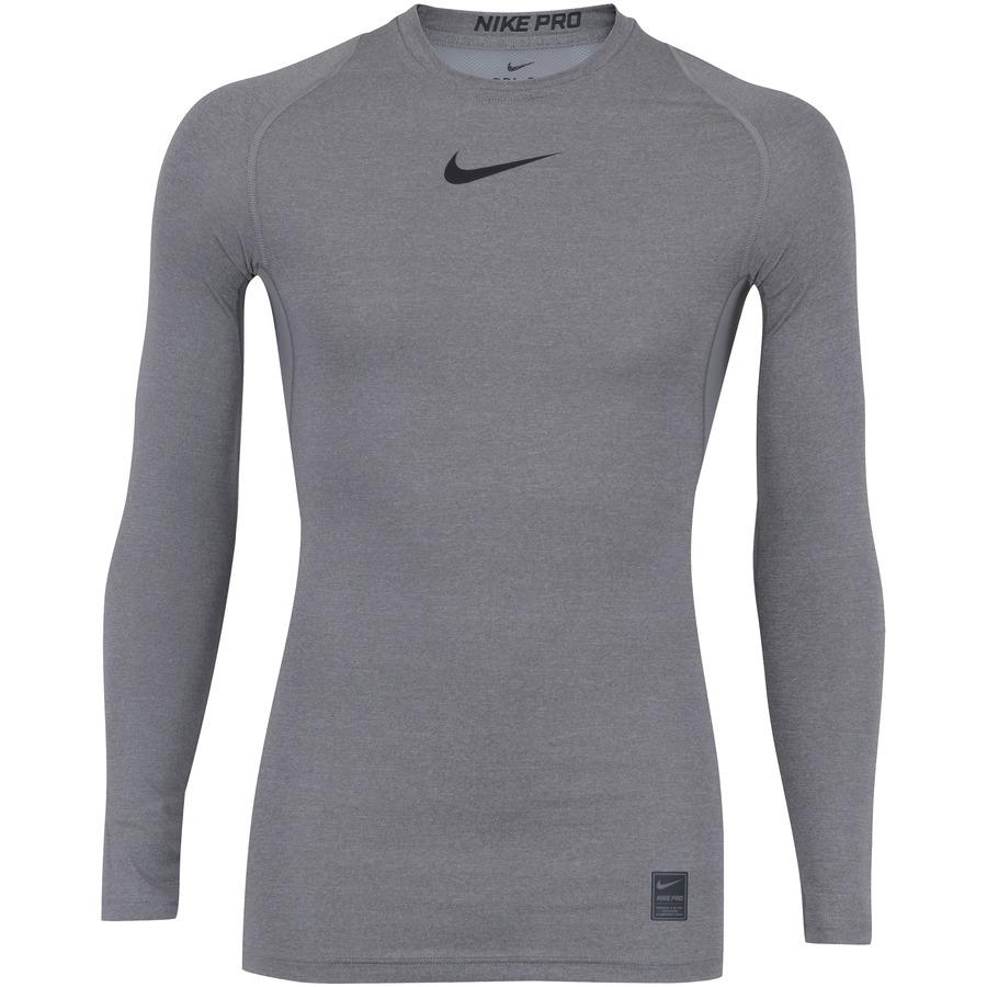 6c253f5c7a Camisa de Compressão Manga Longa Nike Pro LS - Masculina
