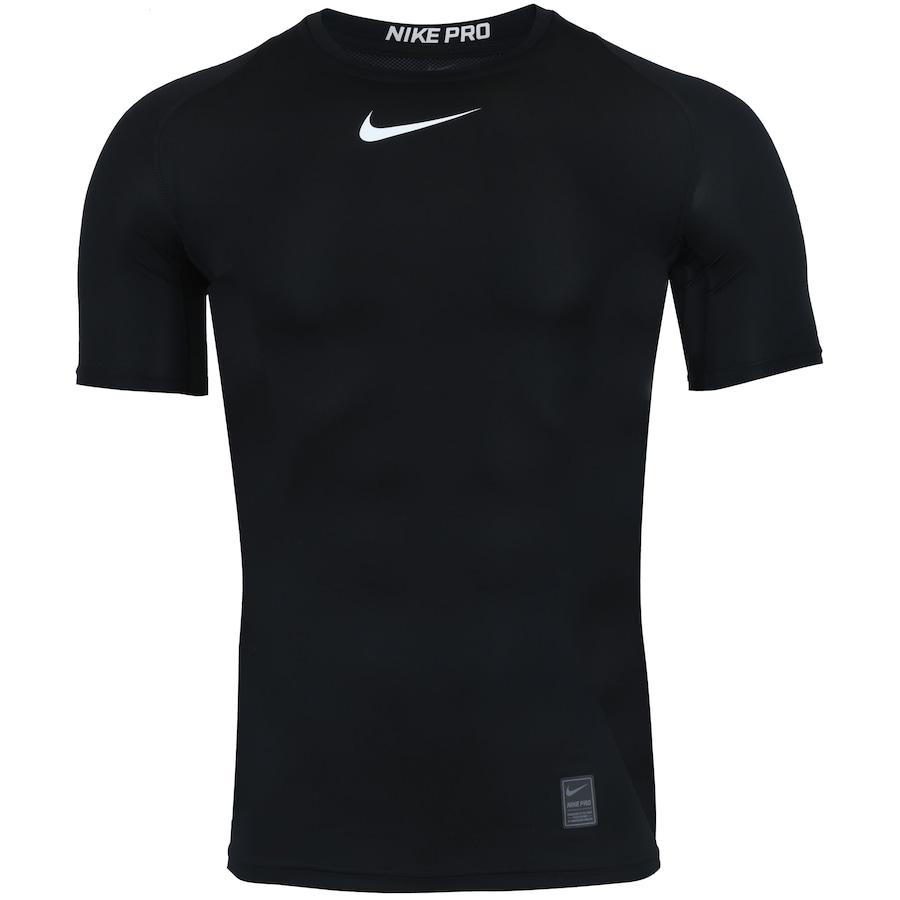 5246b02ad4698 Camisa de Compressão Nike Pro Top SS - Masculina