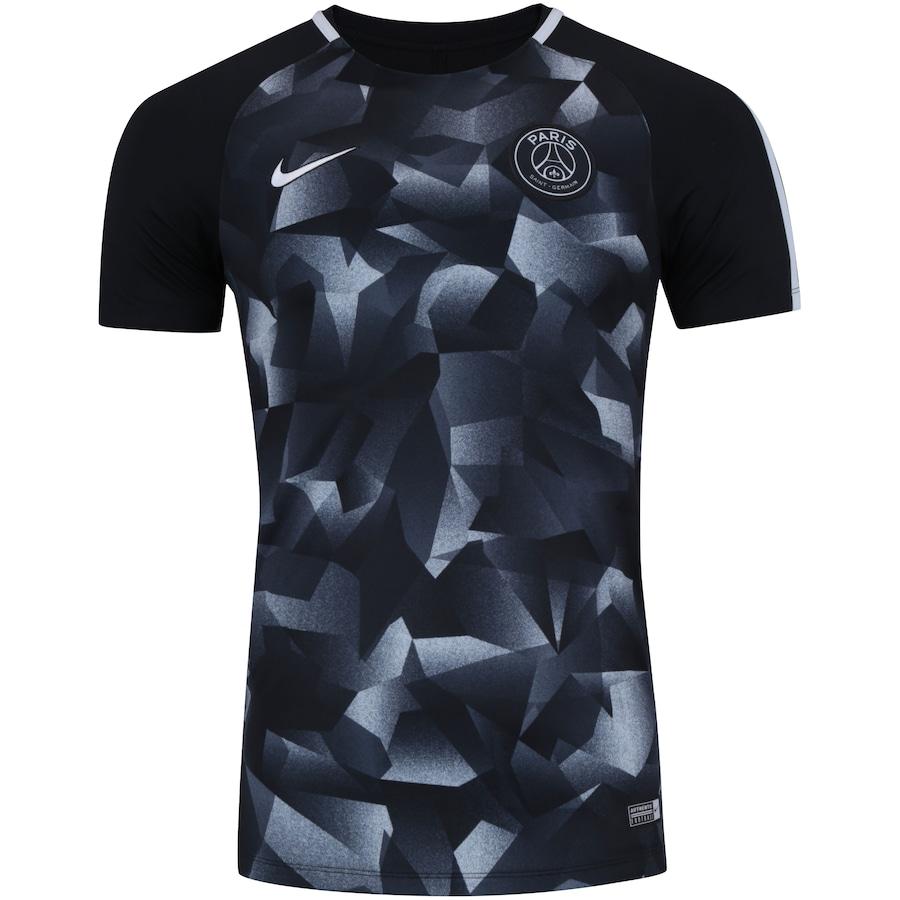563d13d2c8 Camisa Paris Saint-Germain Infantil Away 2018 Nº 7 MBappé - Torcedor Nike
