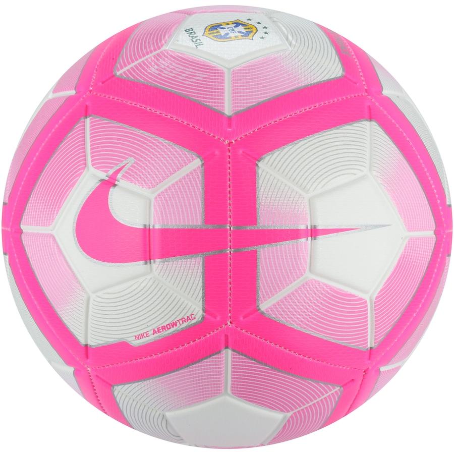 3a7c1eea3e Bola de Futebol de Campo Nike Brasil Strike Pink