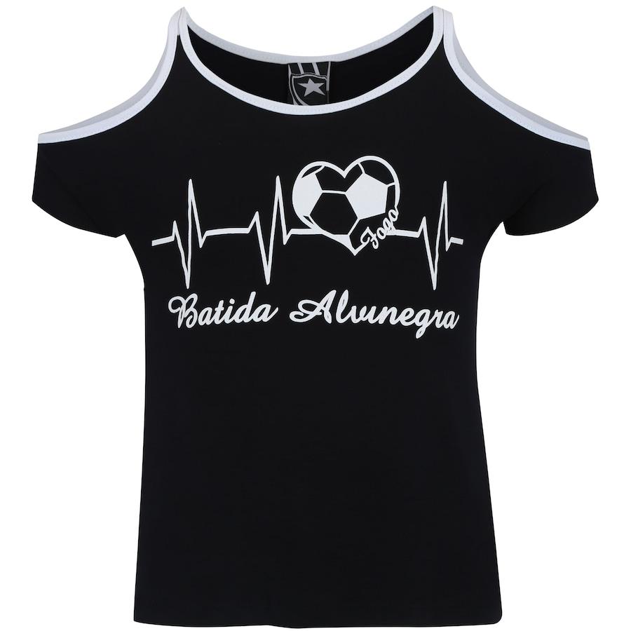 Camiseta do Botafogo Beat Feminina - Infantil 4ce73687df49a