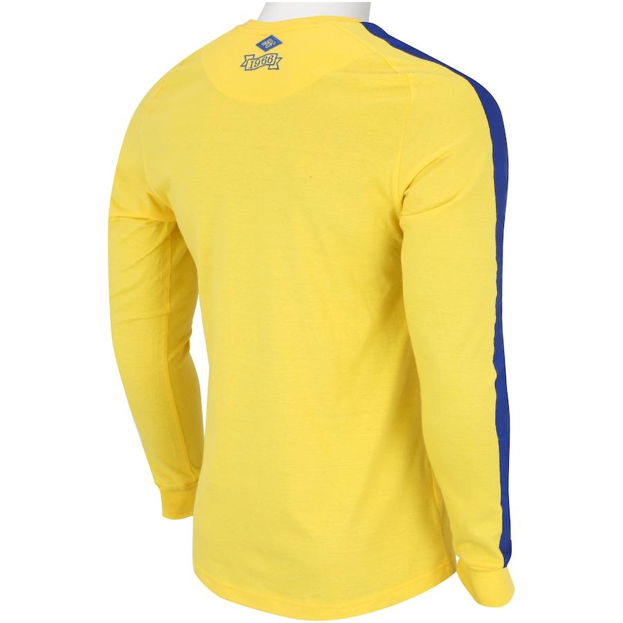 923f10dde461b Camisa de Goleiro do Cruzeiro Umbro 1966 Retrô - Masculina