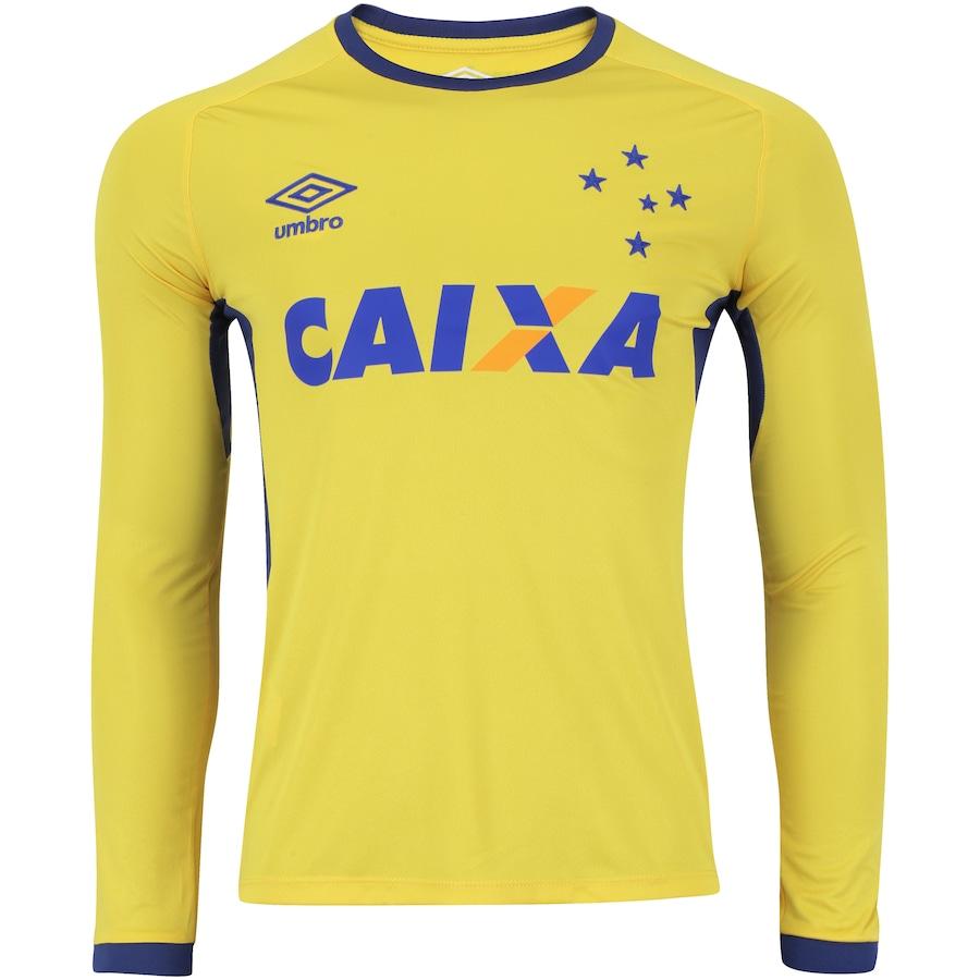Camisa de Treino Manga Longa do Cruzeiro 2016 Umbro 6c7fce9060d0d