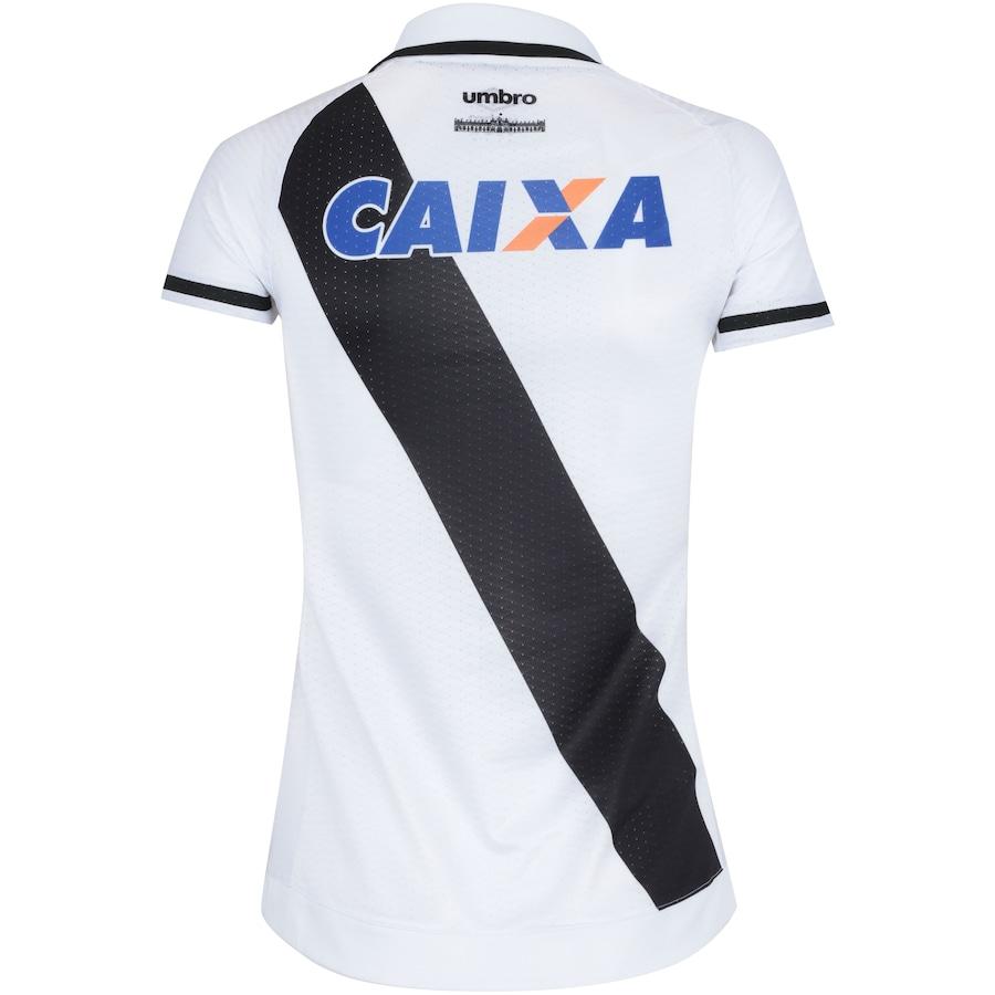 d9f0463c09bd9 Camisa do Vasco da Gama II 2017 Umbro com Patrocínio - Feminina