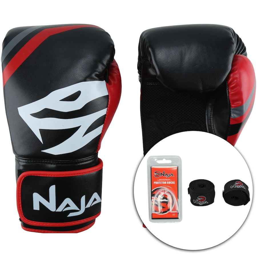 683d22df8 Kit de Boxe Naja First - 10 OZ - Adulto