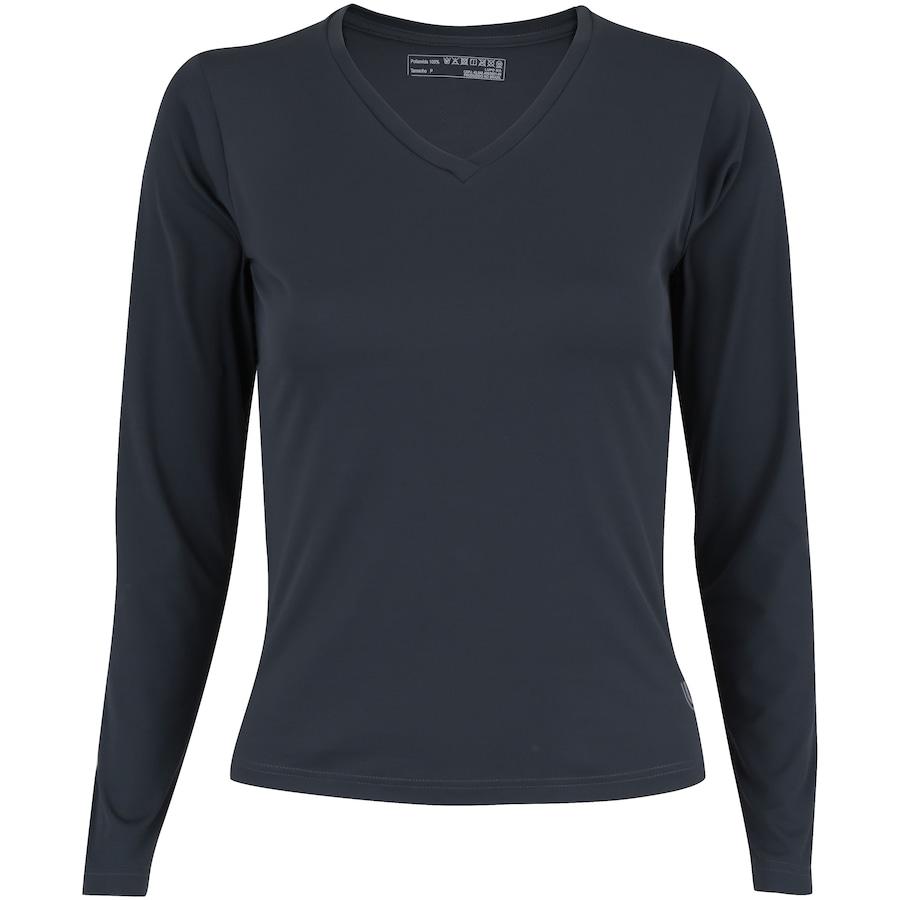 Camiseta Manga Longa com Proteção Solar UV Lupo Repelente - Feminina