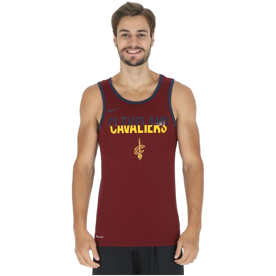 a68f35ec1 Camiseta Regata Nike NBA Cleveland Cavaliers Logo - Masculina