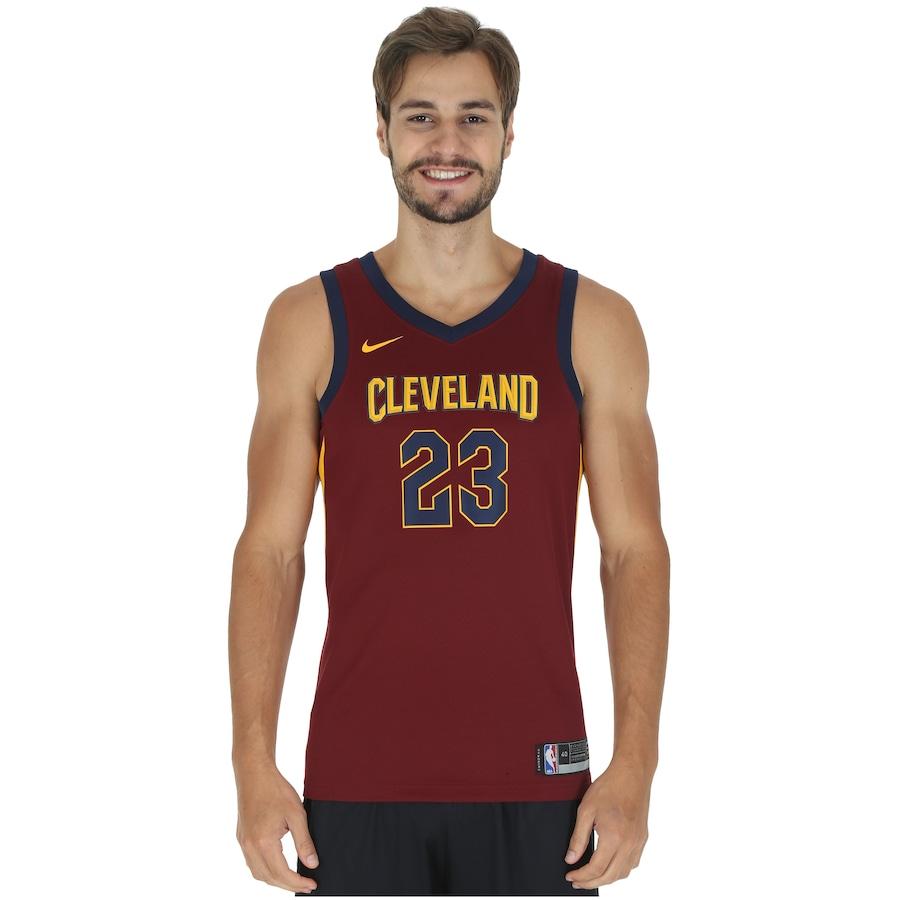 Camiseta Regata Nike NBA Cleveland Cavaliers James nº 23 10d367a14e243