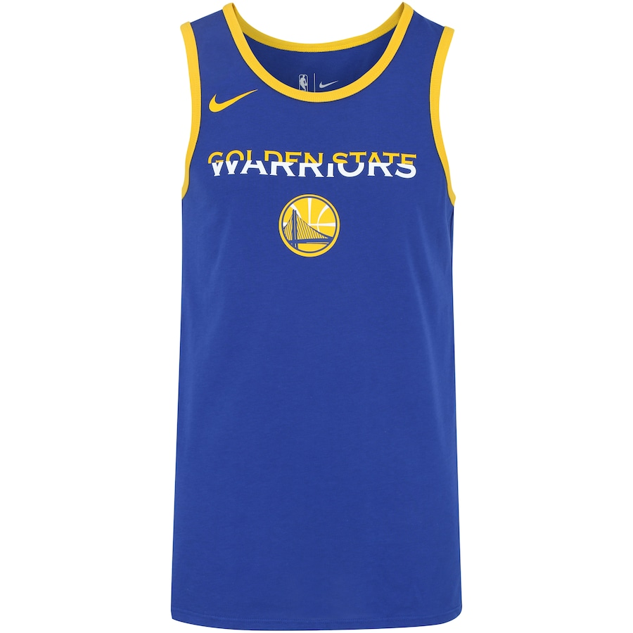 Camiseta Regata Nike NBA Golden State Warriors Dry Logo e50a4d11a13