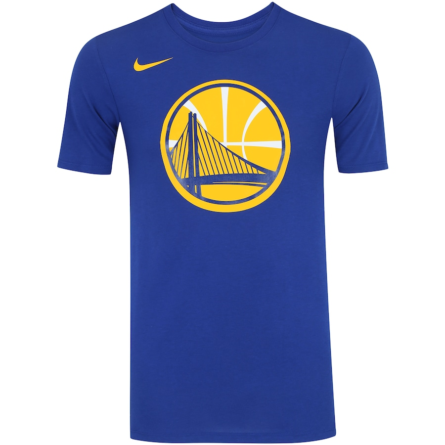 35e254eb8 Camiseta Nike NBA Golden State Warriors Logo - Masculina