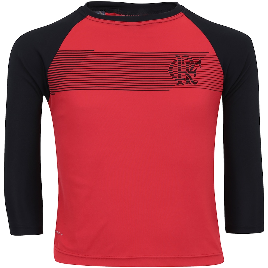 Camiseta Manga Longa do Flamengo com Proteção Solar UV Zone ec73fac92fd8f