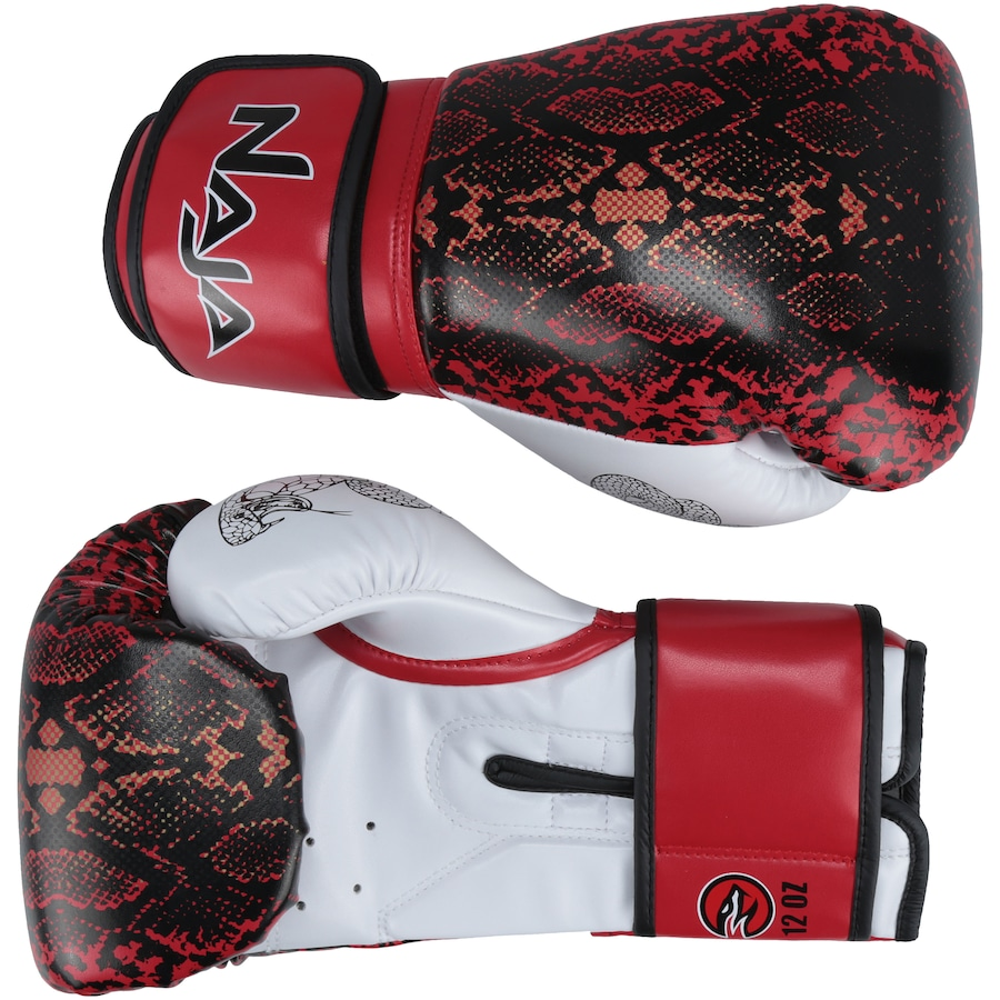 d49797bc6 Luvas de Boxe Naja Animal Print Cobra - 12 OZ - Adulto
