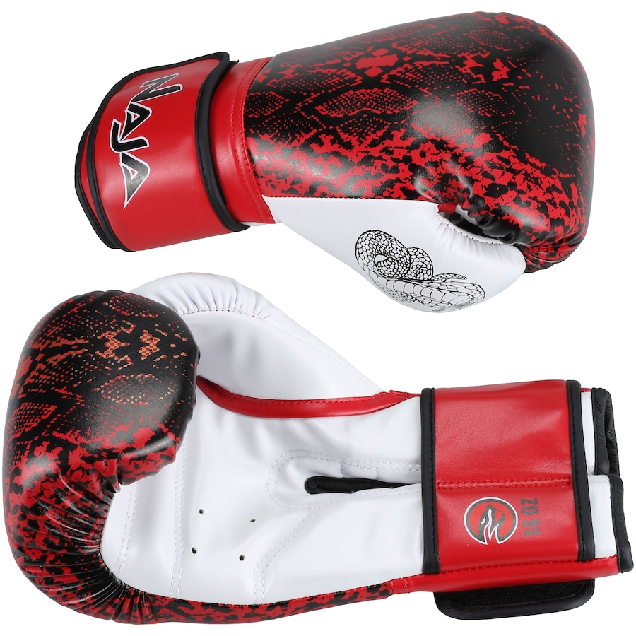 870dda717 Luvas de Boxe Naja Animal Print Cobra - 14 OZ - Adulto