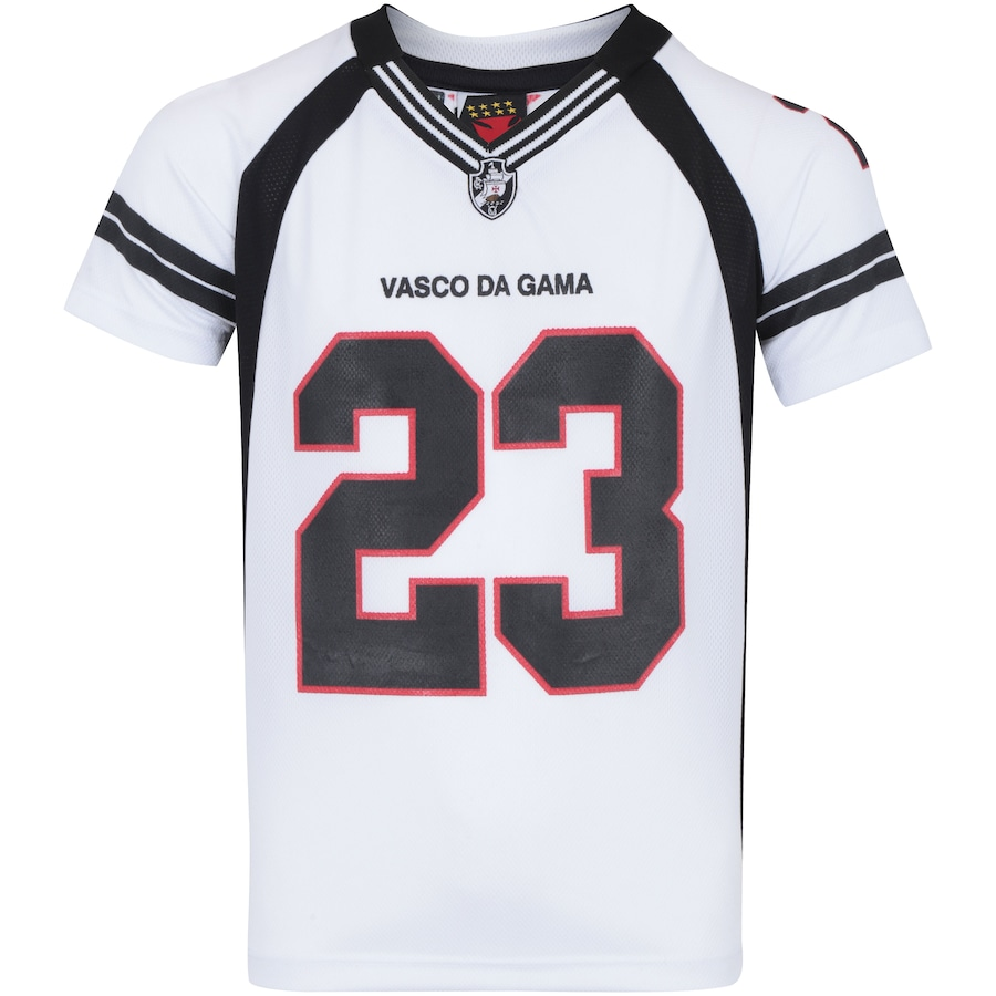 Camiseta do Vasco da Gama Bion Raglan - Infantil b580b236cd68c