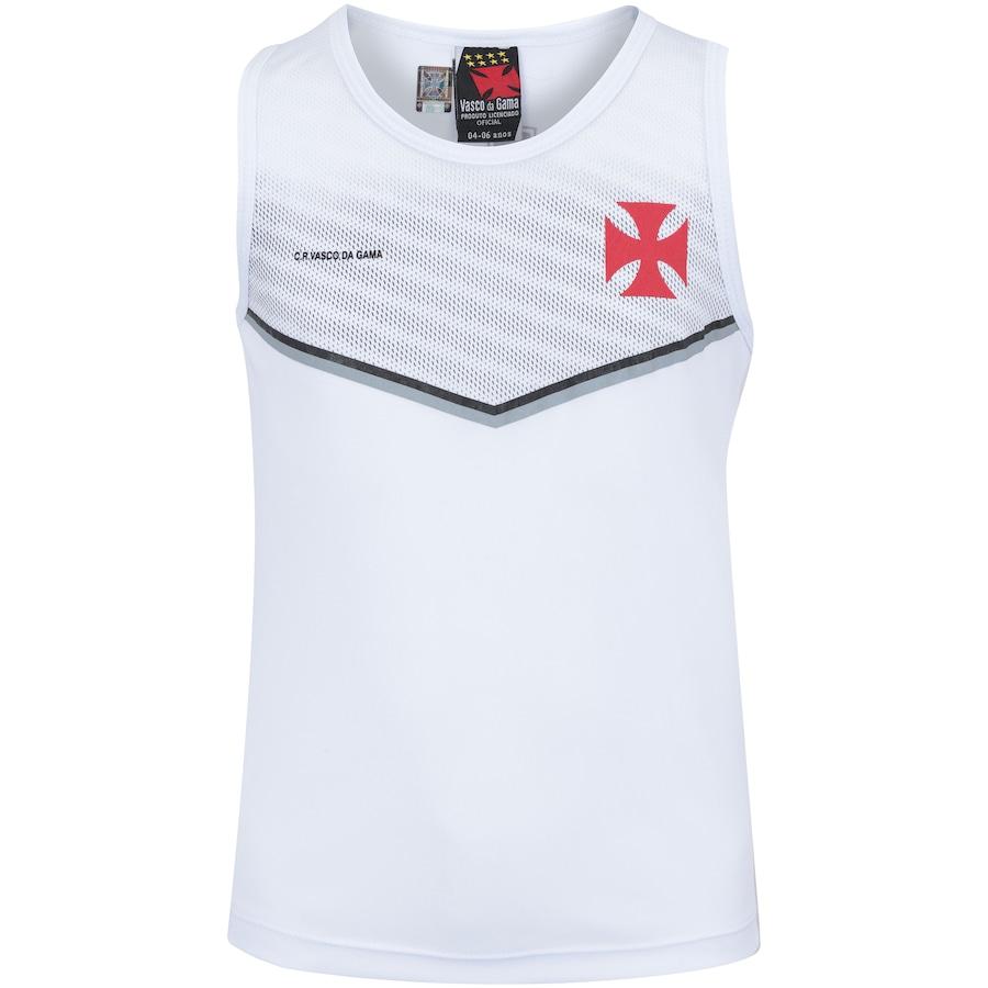Camiseta Regata do Vasco da Gama Cover - Infantil e9d9c2d11310b