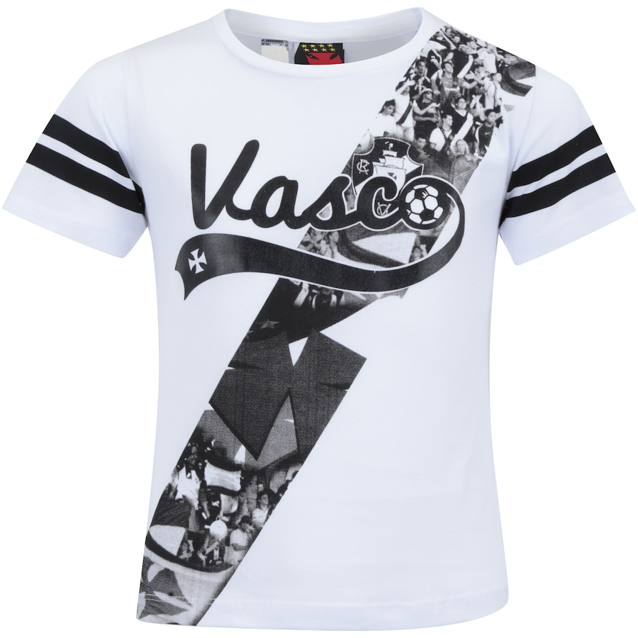 Camiseta do Vasco da Gama Player Feminina - Infantil 918127fa1fbdf