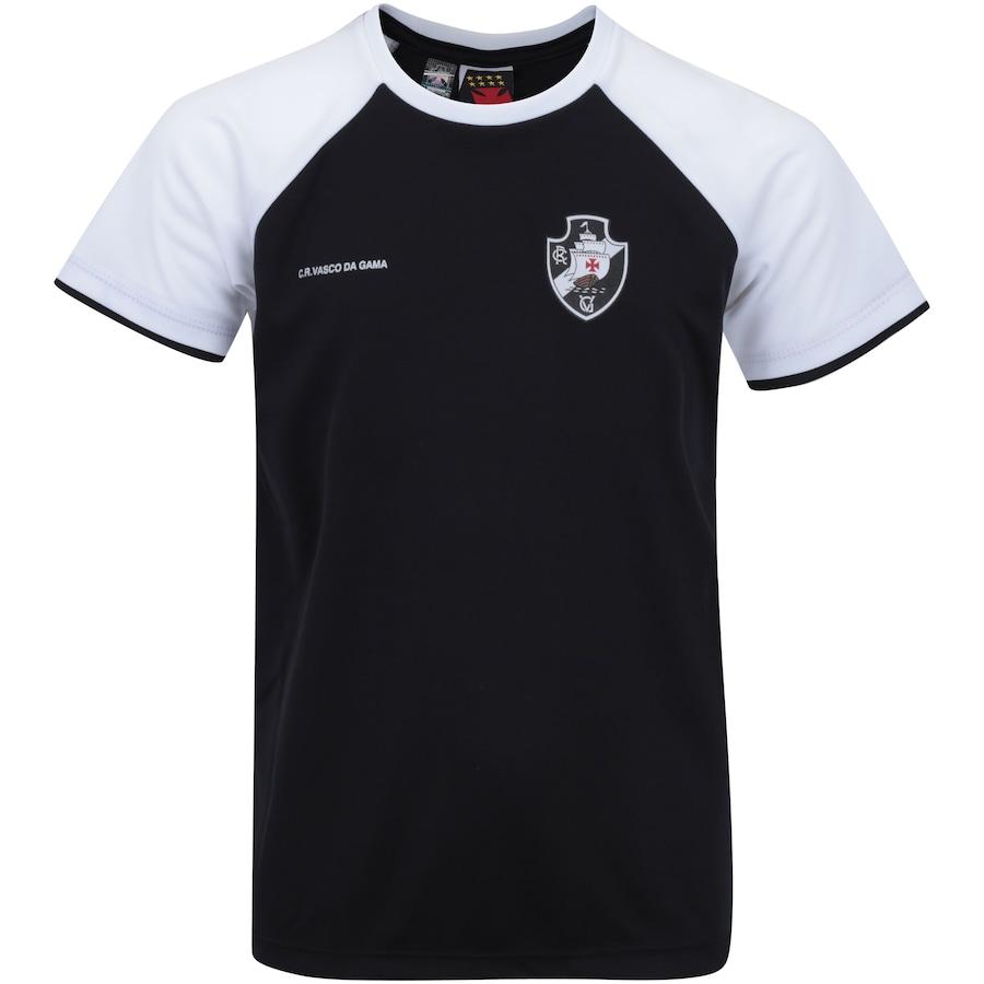 Camiseta do Vasco da Gama Less Raglan - Infantil c39cfe32f858c
