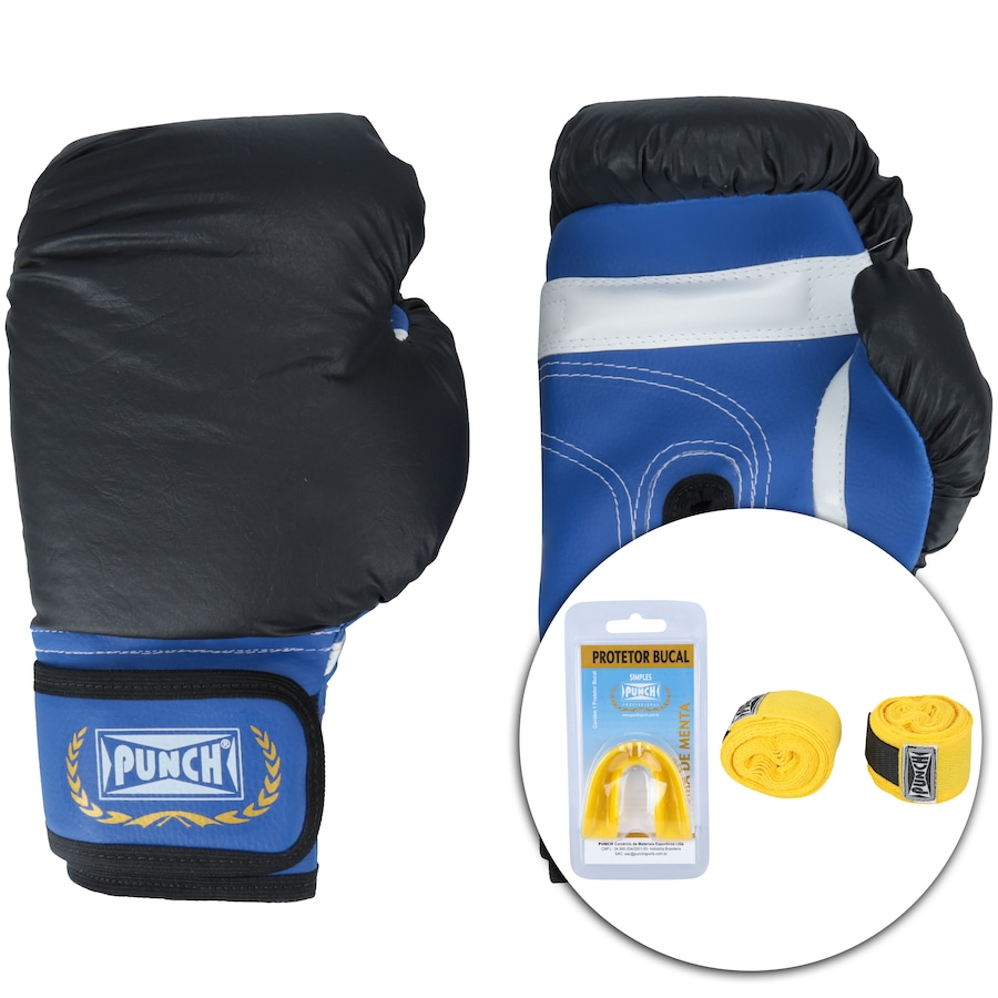 530bf2206 Kit de Boxe Punch PU124 - 10 OZ - Adulto