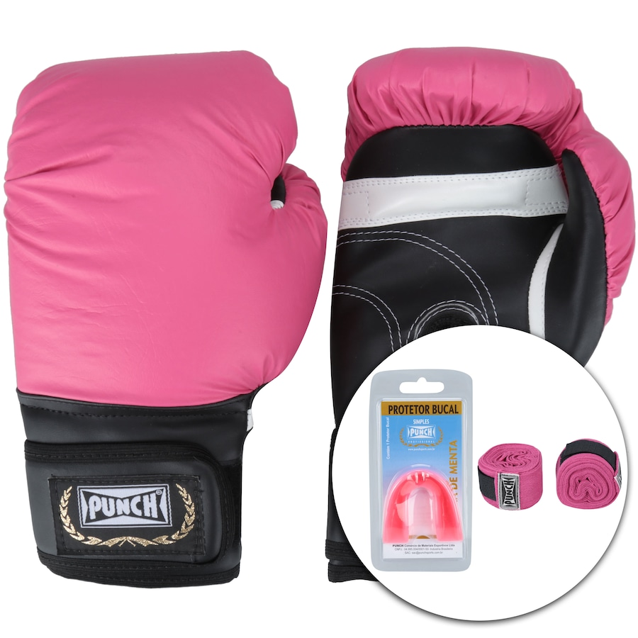 6ee765cd3 Kit de Boxe Punch PU127 - 12 OZ - Adulto