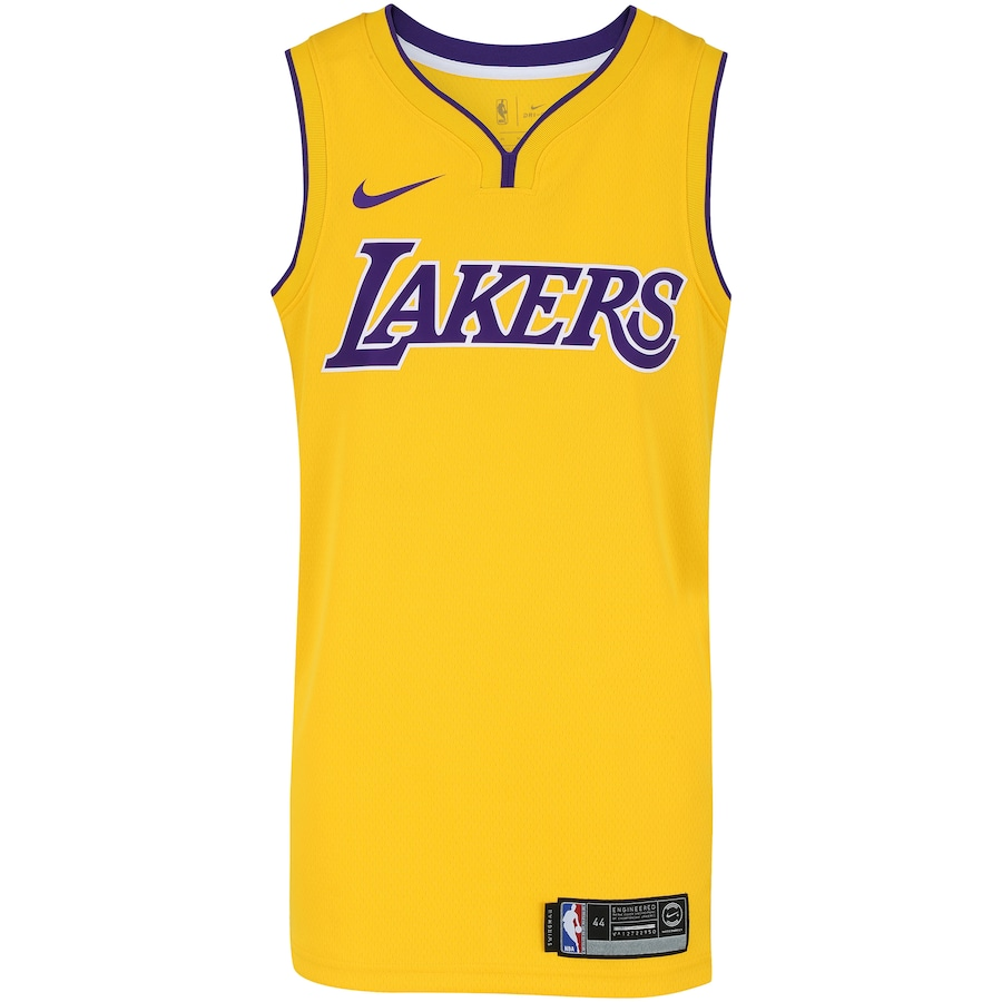 b7e6c6226 Camisa Regata Nike NBA Los Angeles Lakers Home Blnk