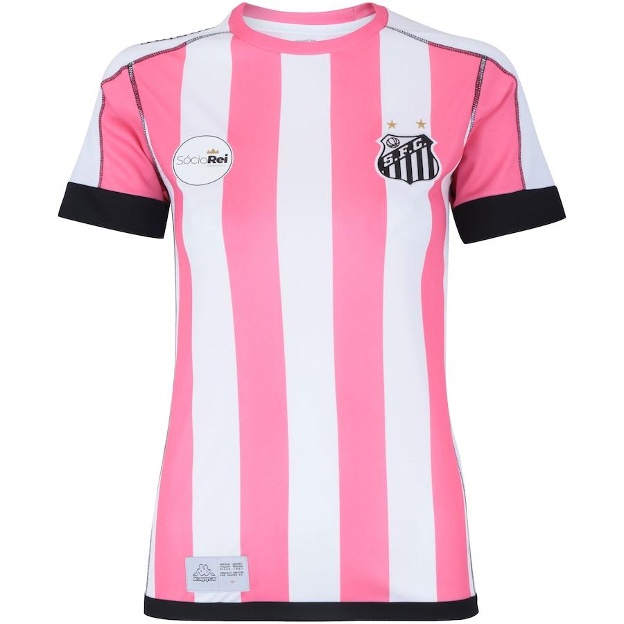 Camisa do Santos II 2017 Kappa Edição Limitada - Feminina 27ae844e304b6