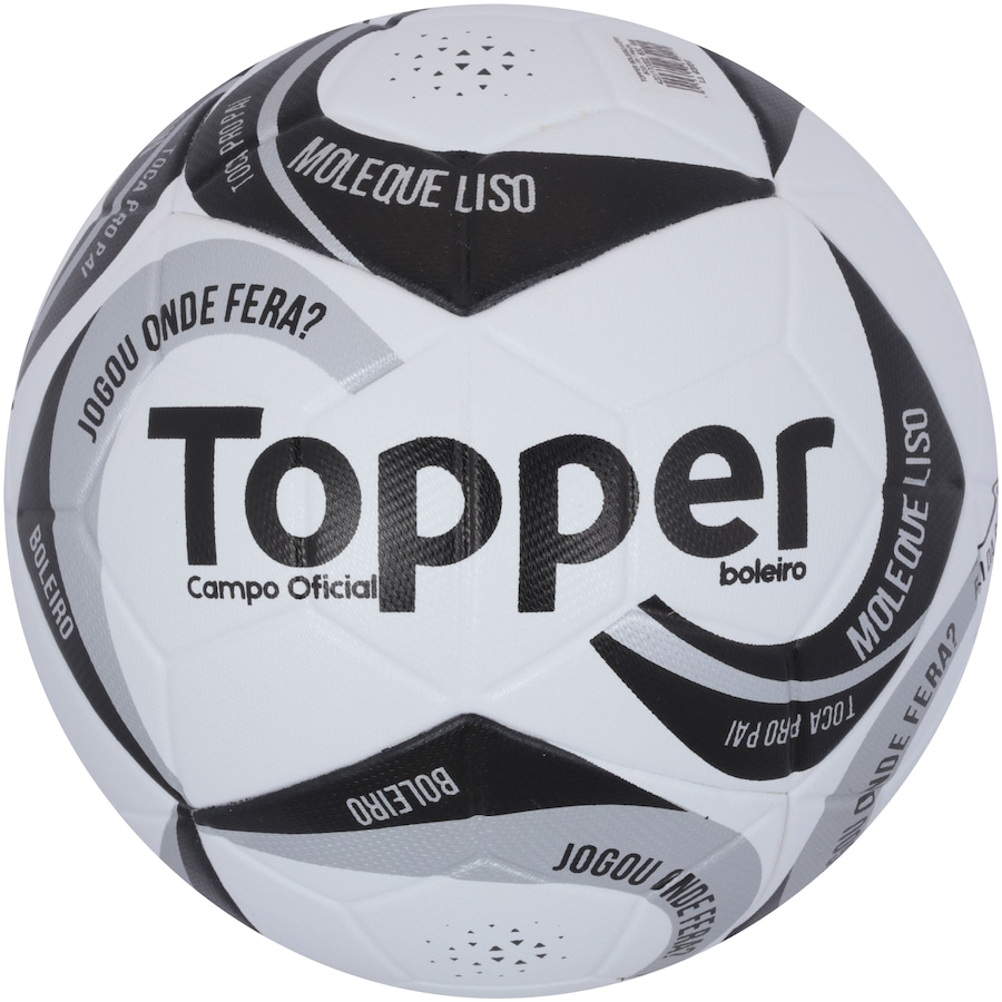 Bola de Futebol de Campo Topper Boleiro 523ae4d3aacdb