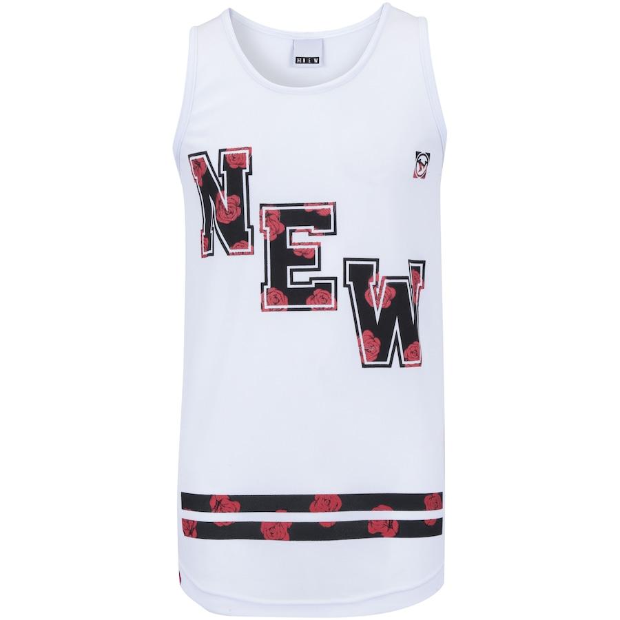 Camiseta Regata Newskate Floral - Masculina 990608012e4